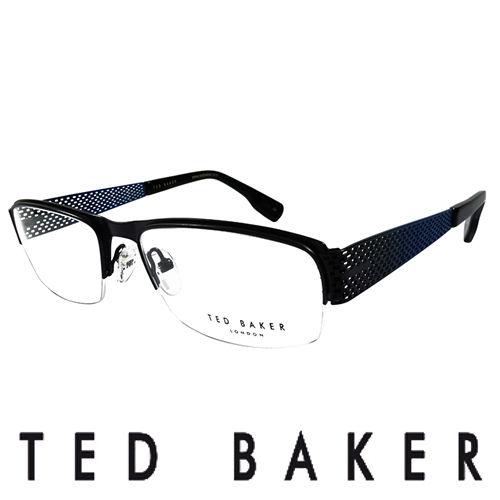 TED BAKER 英國 金屬 光學眼鏡  藍  TB4188~919