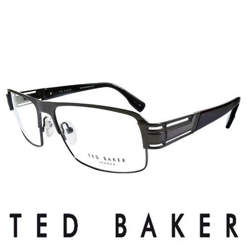 TED BAKER 英倫簡約風格 光學鏡框 黑  TB4194~961