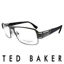 TED BAKER 英倫簡約風格造型光學鏡框(黑) TB4194-961