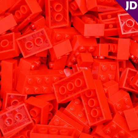 【FY積木大師】300克積木顆粒-紅色