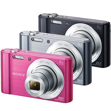 SONY DSC-W810高畫質數位相機(公司貨)-加送SDHC32G記憶卡+原廠電池(含標配共2顆)+專用電池+專用座充+清保組+讀卡機+伸縮自拍桿