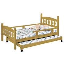 HAPPYHOME 烏心石3.7尺子母床070-1不含床墊