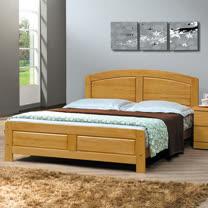 HAPPYHOME 白楓木5.2尺雙人床078-2(床頭+床架)