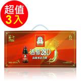 【正官庄】活蔘28D 8入禮盒 - 3盒組