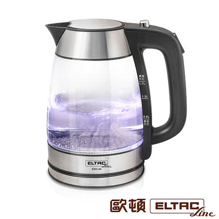 ELTAC欧顿1.7L玻璃快煮壶 EBK-04