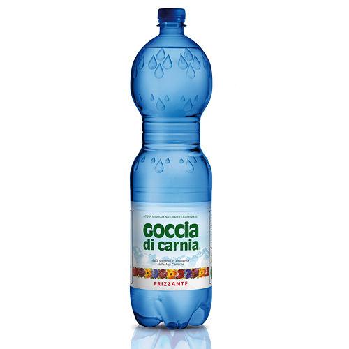 Goccia di Carnia 高地卡尼天然氣泡礦泉水瓶裝 1500mlx12入