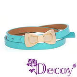 【Decoy】貓眼蝴蝶結*糖果色皮帶/六色可選