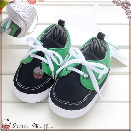 學步鞋 撞色套腳牛津鞋 止滑膠底外出娃娃鞋 SMI363