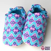 英國POCONIDO 手工嬰兒鞋(萬花筒)