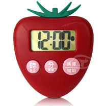 【CATIGA】歡樂果漾-大字幕電子計時器-草莓紅