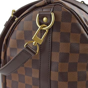 Louis Vuitton LV N41366 N41182 Speedy 35 棋盤格紋附背帶手提包_現貨