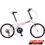 【FUSIN】新騎生活F101 20吋21速小徑摺疊車(D.I.Y調整)