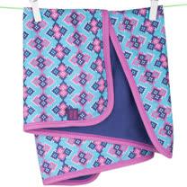 英國 POCONIDO 精梳棉嬰兒毯 (萬花筒)