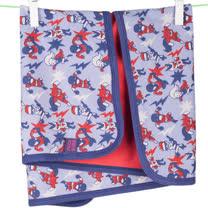 英國 POCONIDO 精梳棉嬰兒毯 (超級英雄)