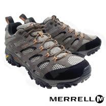 【美國 MERRELL】男款 MOAB GORE-TEX XCR 100%防水透氣登山健行鞋_ML87107(淺棕/黑)