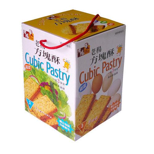 嘉義老楊方塊酥~綜合口味540g