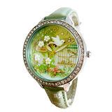 【Chimon Ritz】韓國MINI手工軟陶創意手錶-3D神秘花園