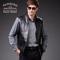 【FANTINO】男性經典線條休閒襯衫 444316