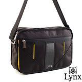 Lynx - 山貓科技概念系列標準橫式側背包-耶魯黃