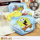 魔法Baby~台灣製造海綿寶寶男童三角內褲-4件組~k38941