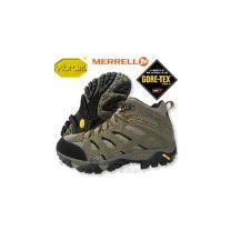 【美國 MERRELL 】男中筒 Moab Mid Gore-Tex Xcr 100%防水透氣專業健行.登山鞋.健走.休閒旅遊( 非LA NEW) 86901