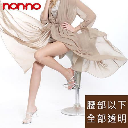 【non-no儂儂】全透明超彈性褲襪(6雙/組)