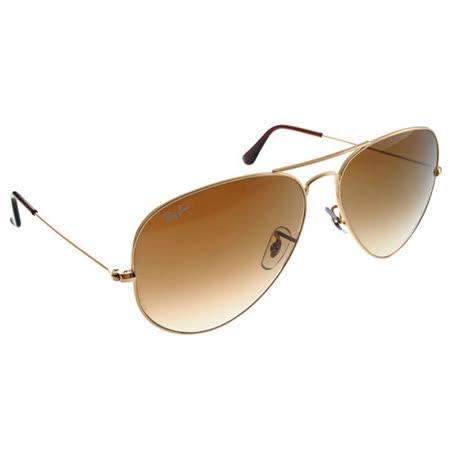 Ray Ban雷朋太陽眼鏡 (金-漸層棕色)#RB3025 00151-62mm大版