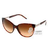 BVLGARI 太陽眼鏡 BV8101BA 85113 (琥珀) 寶格麗超大圓框墨鏡 # 金橘眼鏡