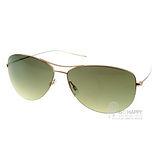 OLIVER PEOPLES太陽眼鏡 好萊塢星鏡(金-綠)# STRUMMER-T 3775
