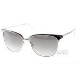Oliver Peoples太陽眼鏡 金屬眉框歐美款 (銀)# OP LEIANA 52116I