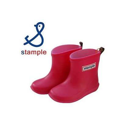 日本製 stample兒童雨鞋-粉色
