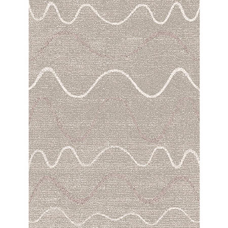 【范登伯格】赫野☆曼花绘系列丝质感地毯-波浪-160x230cm