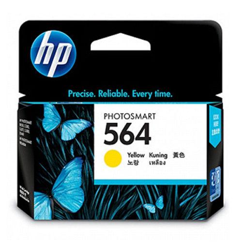 HP 564 黃色染料墨水9600dpi  CB320WA