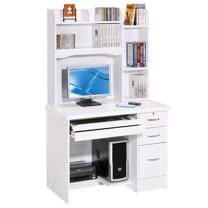 HAPPYHOME 進興白色3.5x5.6尺電腦桌886-1