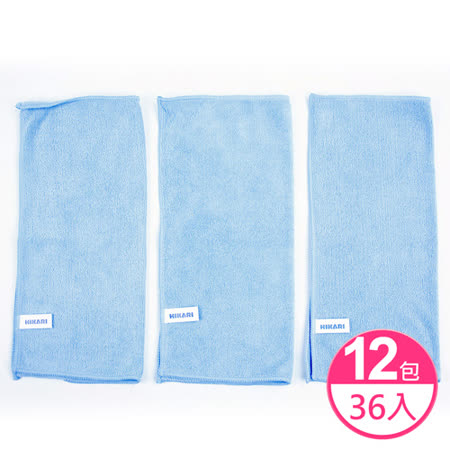 【HIKARI日光生活】家電玻璃擦拭布-(12包共36入)