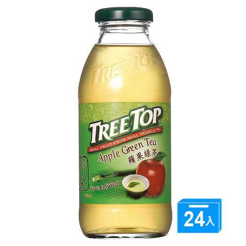 樹頂 蘋果綠茶360ml*24