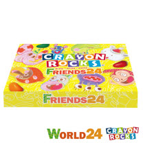 Crayon Rocks酷蠟石<br>彩繪世界 24色