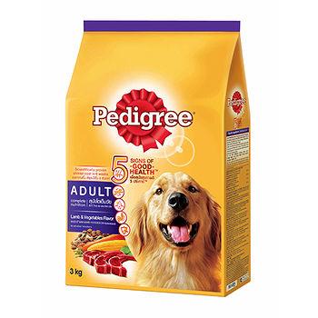 寶路-乾糧成犬羊肉及蔬菜口味 3kg