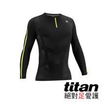 Titan機能緊身衣-長袖[黑/黃]