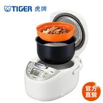【TIGER 虎牌】日本製 6人份微電腦多功能電子鍋