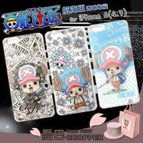 日本東映授權正版 航海王 iPhone 6 4.7吋 透明軟式保護套 手機殼(喬巴系列)