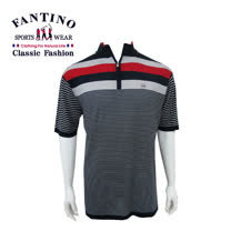【FANTINO】男款 英倫撞色系針織衫 (深藍) 337302