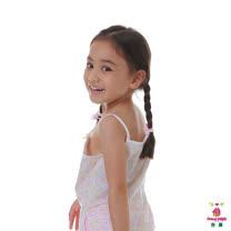 【Anny pepe】粉色鬱金香肩帶背心家居(美國精梳棉)
