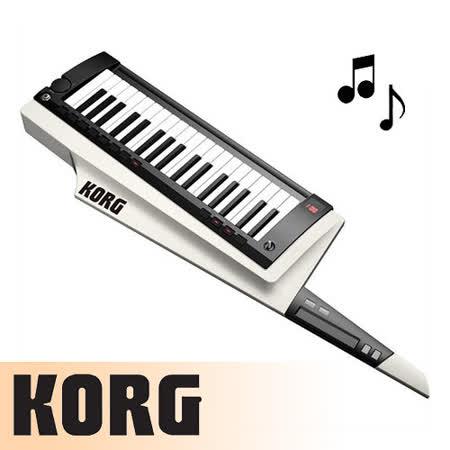 【KORG】KEYTAR肩背式合成器鍵盤含原廠琴袋-白色-公司貨保固 (RK-100S-WH)