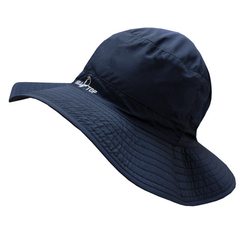 【hilltop山頂鳥】抗UV可收納帽S01XC7-深藍