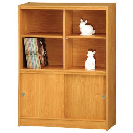 HAPPYHOME 豪豐3x4尺玻璃拉門書櫃A08-1可選色