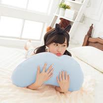 格藍傢飾-多功能彎月抱枕(2入)