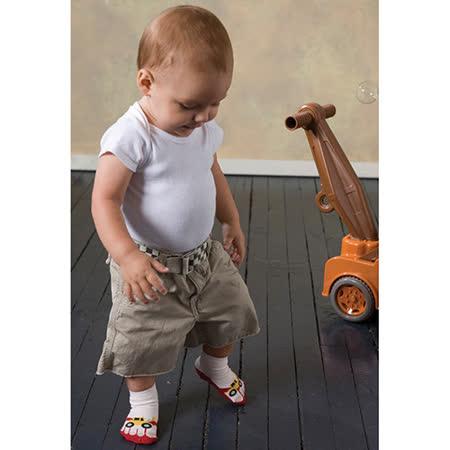 美國 Jazzy Toes 時尚造型棉襪/止滑襪/假鞋襪_三入禮盒組_工程車組(JT3-03)