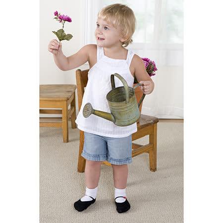 美國 Jazzy Toes 時尚造型棉襪/止滑襪/假鞋襪/嬰兒襪_六雙入禮盒組_瑪莉珍造型鞋襪(JT6-09)