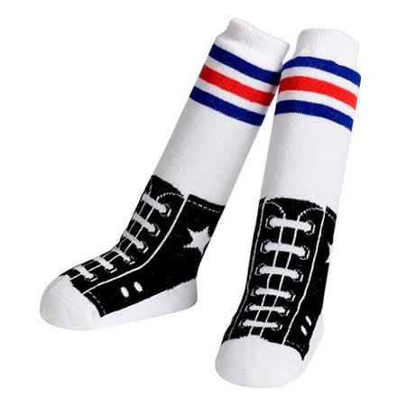 美國 Jazzy Toes 時尚造型棉襪_帆布鞋造型長襪(JTNH-03)